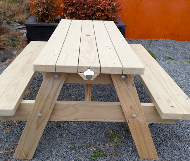 Unique Wooden Products Custom Made To Your Requirements. Picnic/BBQ Tables U003e