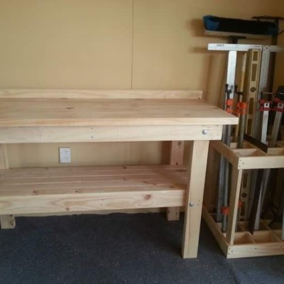 Workbench and tool caddy